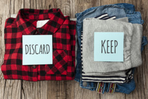 label and declutter